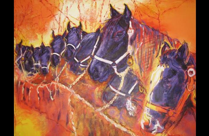 Paardenmarkt, detail.